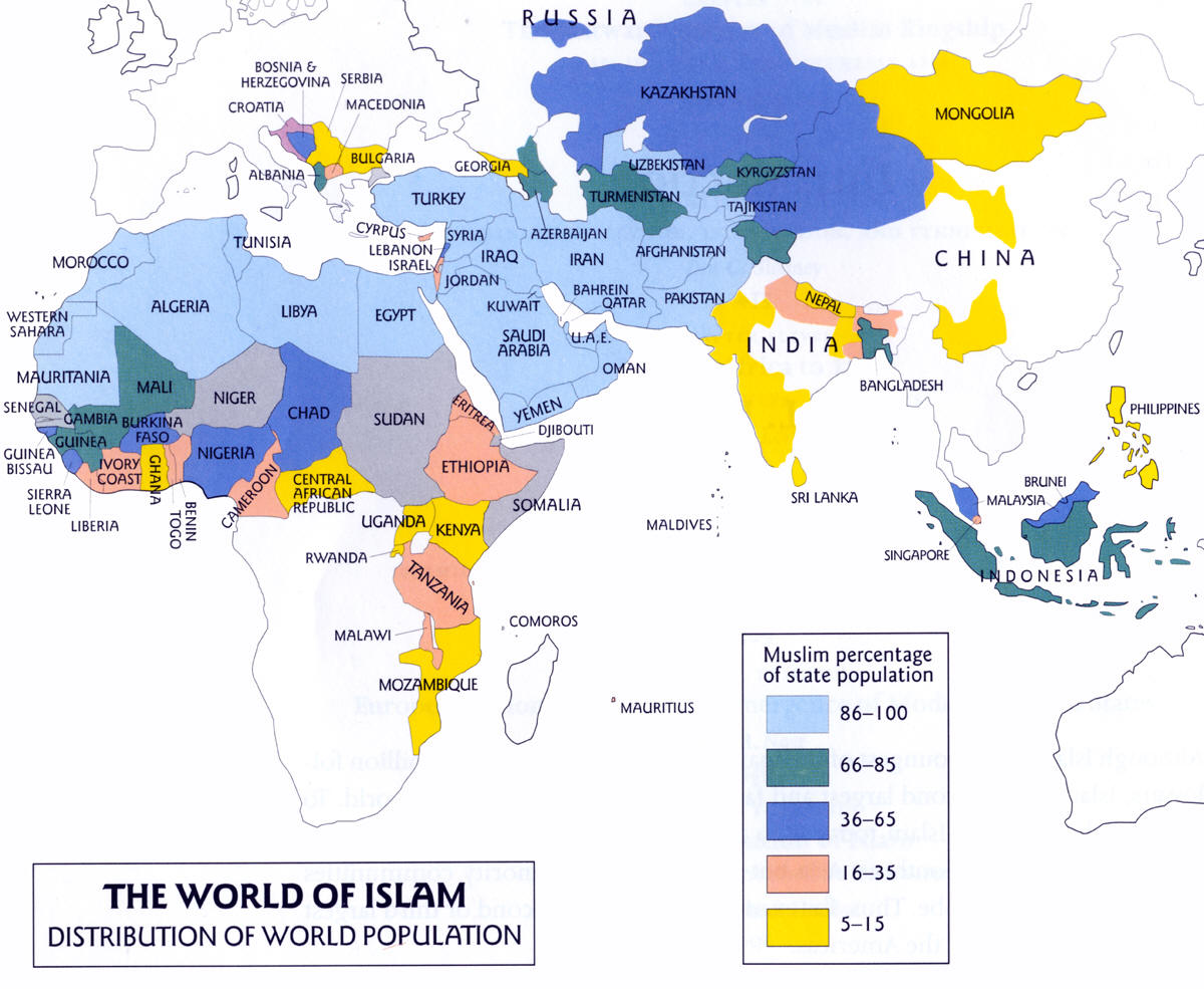 islam worldwide